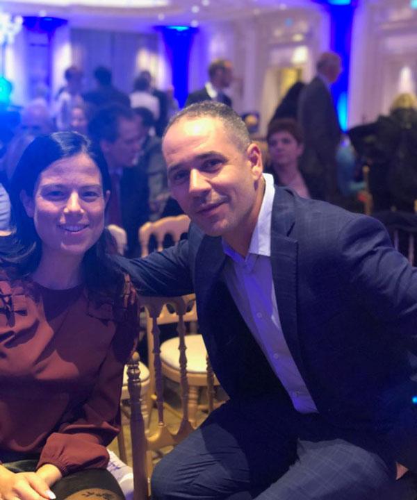 Io e Donatella Evento a Palazzo Parigi